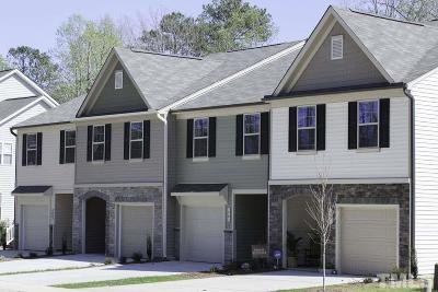 Garner Townhouse For Sale: 434 Cleveland Road #434