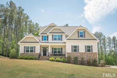 Clayton Single Family Home Contingent: 416 Swann Trail