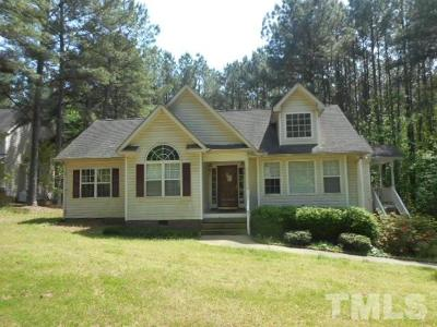 Franklinton Single Family Home Pending: 4121 Tall Pine Drive