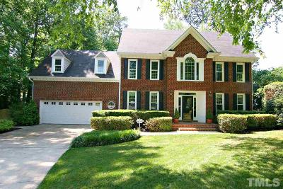 Cary Single Family Home Contingent: 103 Glenbrae Court
