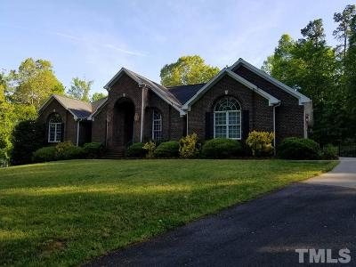 Mebane Single Family Home Contingent: 3364 Bason Road