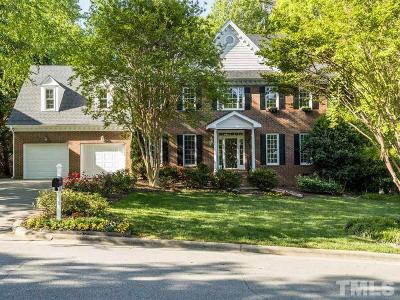 Cary Single Family Home Contingent: 110 Rose Sky Court