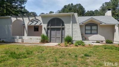 Zebulon Single Family Home Pending: 8525 Riley Hill Road