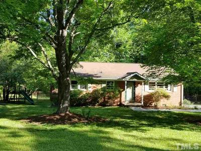 Chapel Hill Single Family Home Pending: 37 S Circle Drive