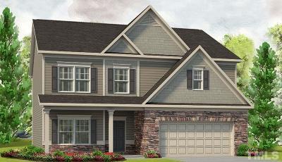 Garner Single Family Home For Sale: 192 Springhill Lane #lot 10