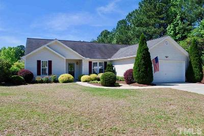 Holly Springs Single Family Home Contingent: 405 Onondaga Court