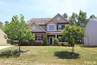 Knightdale Single Family Home Contingent: 5228 Emerald Spring Drive