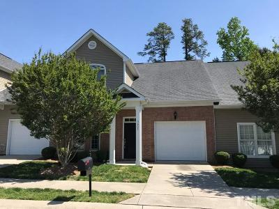 Knightdale Townhouse Contingent: 3005 River Tree Court