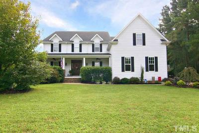 Wake Forest Single Family Home For Sale: 15000 Massimo Drive