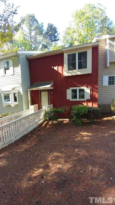 Townhouse For Sale: 5742 Poolside Drive
