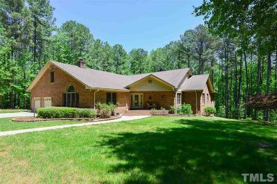 Apex Single Family Home For Sale: 1505 Two Pond Lane