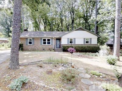 Cary Single Family Home Contingent: 911 Springwell Circle