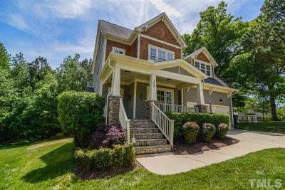 Holly Springs Single Family Home For Sale: 108 Oakboro Glen Court