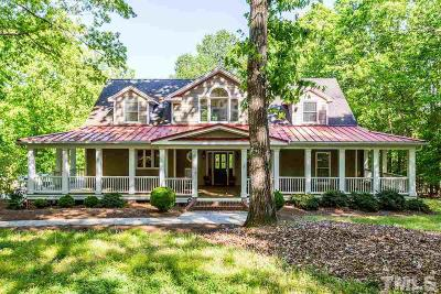 Clayton Single Family Home For Sale: 2005 Riverview Drive