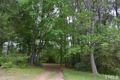 Wake County Residential Lots & Land For Sale: 8825 Old Creedmoor Road