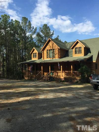 Harnett County Single Family Home For Sale: 190 Cypress Church Road