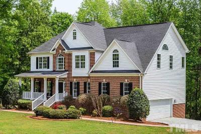 Pittsboro Single Family Home For Sale: 843 Talon Drive