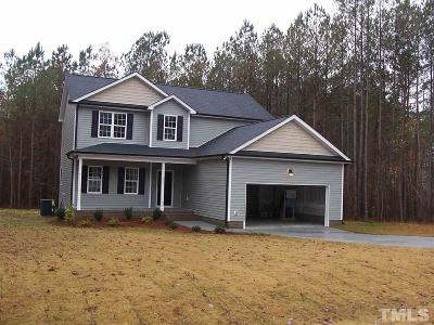 Zebulon Single Family Home For Sale: 105 Yancey Road