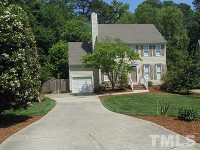 Raleigh Single Family Home Contingent: 7512 Drayton Court