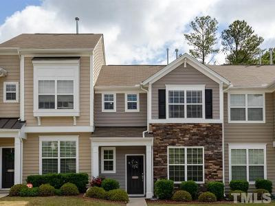 Morrisville Townhouse Contingent: 1208 Grace Point Road