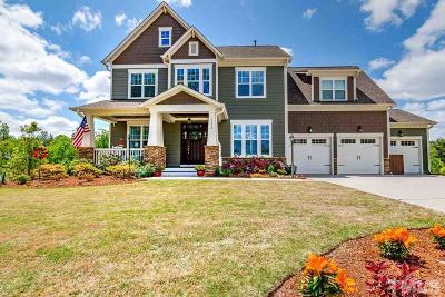 Holly Springs Single Family Home For Sale: 100 Rambling Oaks Lane