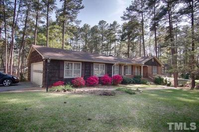 Sanford NC Single Family Home Pending: $259,900