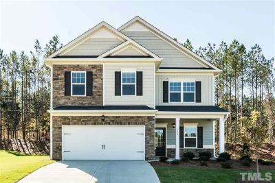 Knolls At The Neuse Single Family Home For Sale: 65 Forest Glade Court #Lot 44