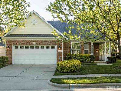 Cary Single Family Home Contingent: 141 Rockport Ridge Way