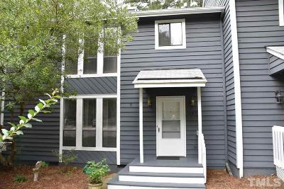 Cary Townhouse Pending: 107 Tracy Court