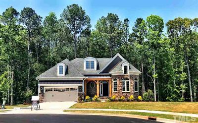 Apex Single Family Home Pending: 2530 Silver Dew Court