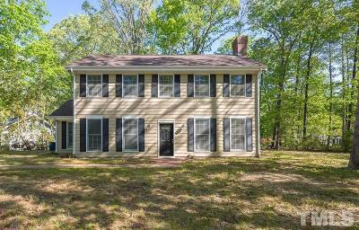 Chapel Hill Single Family Home For Sale: 2 Elmstead Place