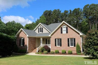 Creedmoor Single Family Home Contingent: 3149 Cooper Circle