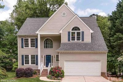 Apex Single Family Home Contingent: 508 Gablefield Lane