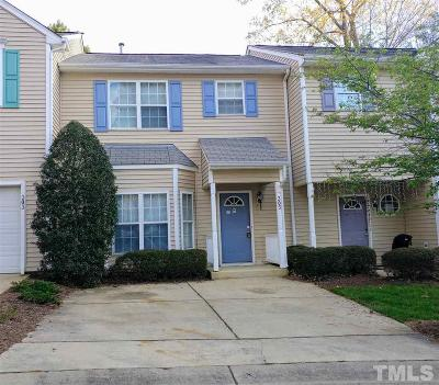 Cary Townhouse For Sale: 305 Orchard Park Road #305