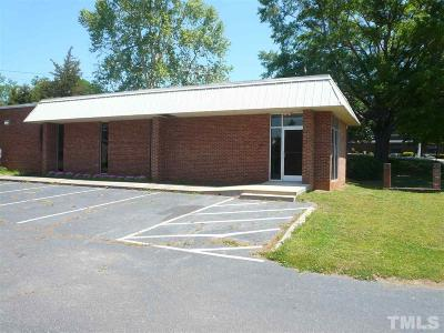 Chatham County Commercial For Sale: 225 E Beaver Street