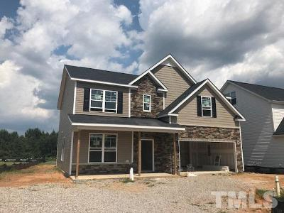 Zebulon Single Family Home For Sale: 2533 Cattail Pond Drive #Lot 101