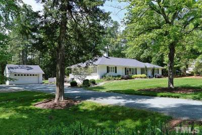 Chapel Hill Single Family Home For Sale: 906 Arrowhead Road