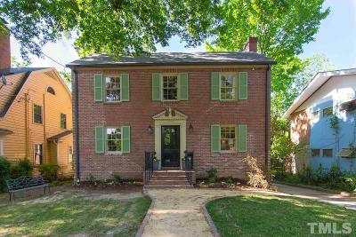 Durham County Single Family Home Pending: 1023 W Markham Avenue