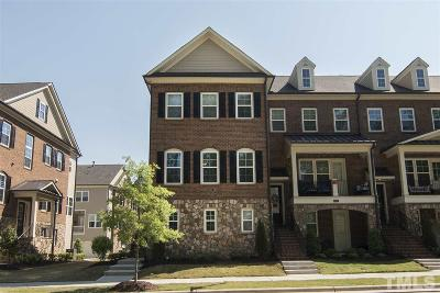 Townhouse For Sale: 861 Wake Towne Drive