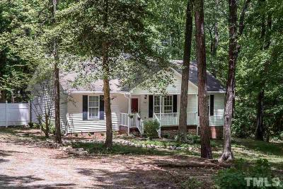 Youngsville NC Single Family Home For Sale: $140,000