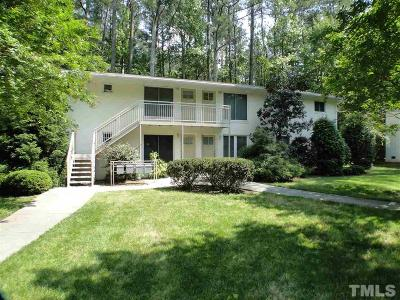 Carrboro Condo For Sale: 107 Todd Street #A