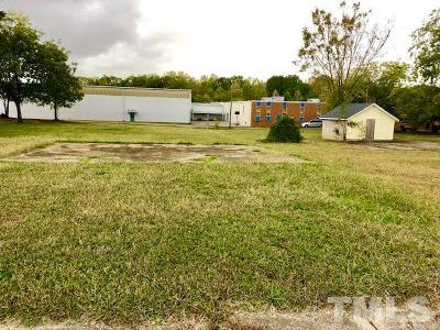Granville County Commercial Lots & Land For Sale: 209 Broad Street