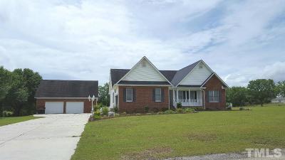 Harnett County Single Family Home For Sale: 70 Barley Drive