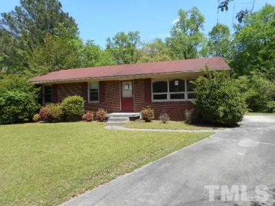 Raleigh Single Family Home Pending: 2713 Ramsey Road