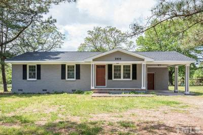 Bunn Single Family Home For Sale: 360 Bunn Elementary School Road