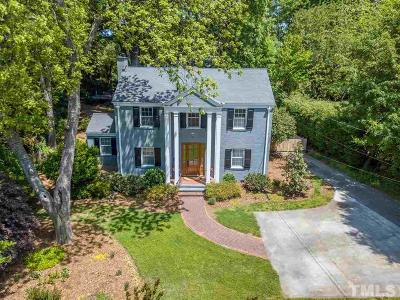 Raleigh Single Family Home For Sale: 2704 Fairview Road