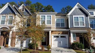 Cary Townhouse For Sale: 4120 Vallonia Drive