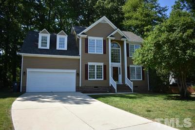 Knightdale Single Family Home Contingent: 1100 Matthews Glen Drive