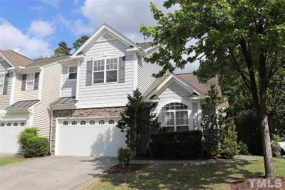 Morrisville Townhouse For Sale: 207 Founders Walk Drive