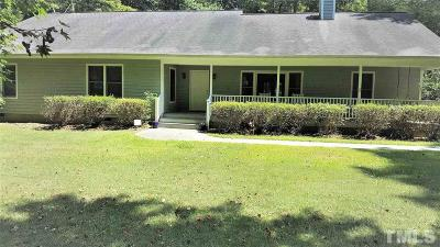 Chapel Hill Single Family Home For Sale: 2211 Damascus Church Road